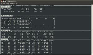 nmon to monitor cpu network and disk io